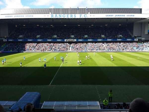 Ibrox Stadium, sección: Main Stand Front, fila: C