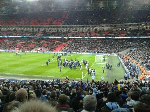 Wembley Stadium, sección: 118, fila: 30, asiento: 230