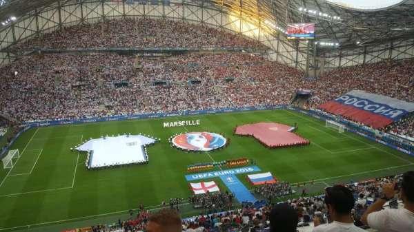 Stade Vélodrome, sección: T, fila: 62