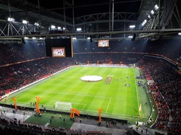 Amsterdam Arena, sección: 412, fila: 26