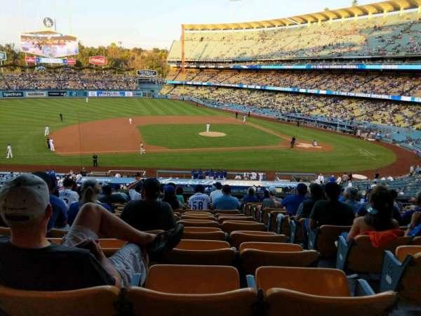 Dodger Stadium, sección: 133LG, fila: O, asiento: 2