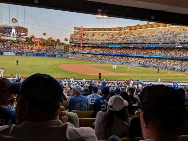 Dodger Stadium, sección: 31FD, fila: W, asiento: 7