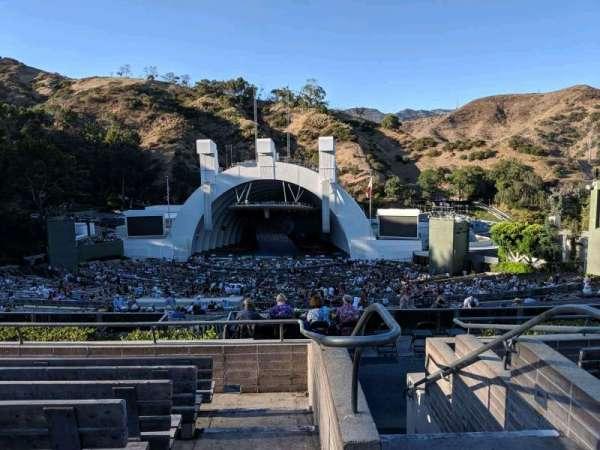 Hollywood Bowl, sección: M2, fila: 7, asiento: 101