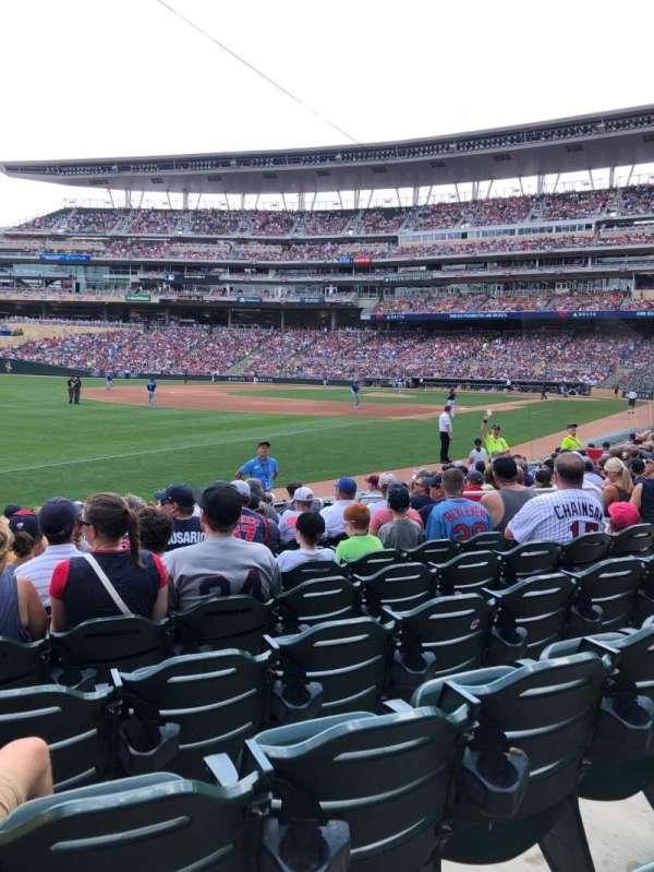 Target Field, sección: 125, fila: 12, asiento: 10