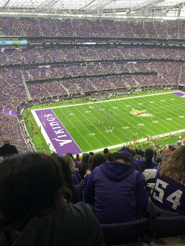 U.S. Bank Stadium, sección: 317, fila: 13, asiento: 15