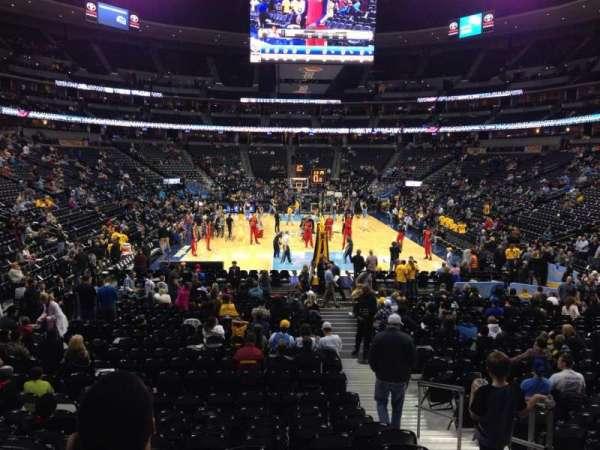 Pepsi Center, sección: 138, fila: 15, asiento: 3