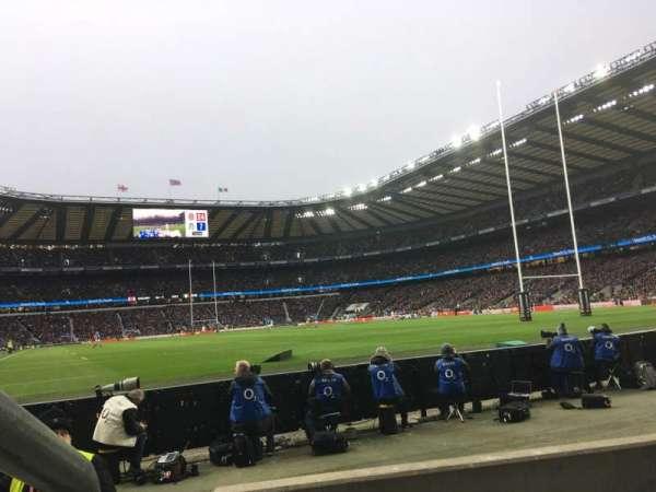 Twickenham Stadium, sección: L36, fila: 3, asiento: 246