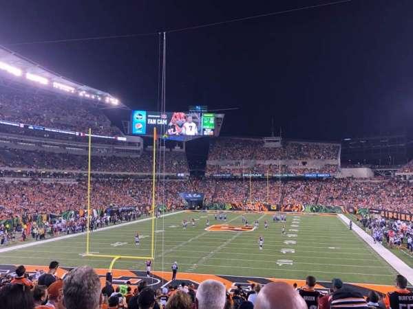 Paul Brown Stadium, sección: 152, fila: 30, asiento: 10