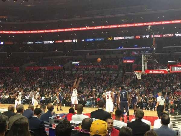 Staples Center, sección: 119, fila: C, asiento: 2