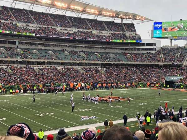 Paul Brown Stadium, sección: 146, fila: 26, asiento: 6