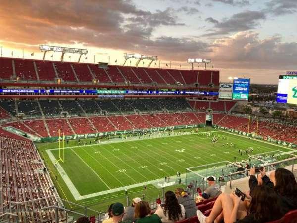 Raymond James Stadium, sección: 330, fila: G, asiento: 16