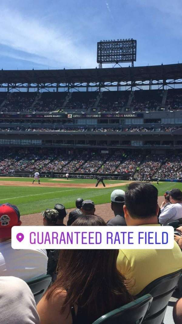 Guaranteed Rate Field, sección: 149, fila: 3, asiento: 5
