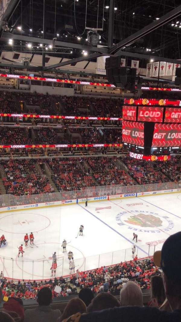 United Center, sección: 304, fila: 5, asiento: 1
