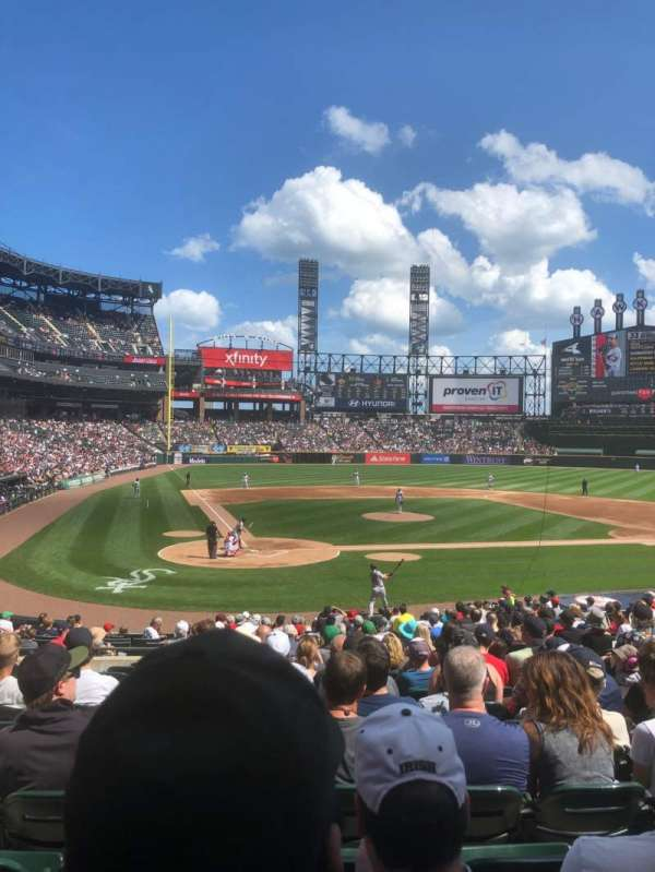 Guaranteed Rate Field, sección: 129, fila: 25, asiento: 7