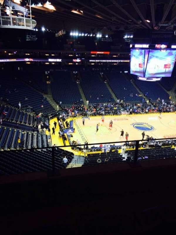 Oracle Arena, sección: 203, fila: 3, asiento: 3