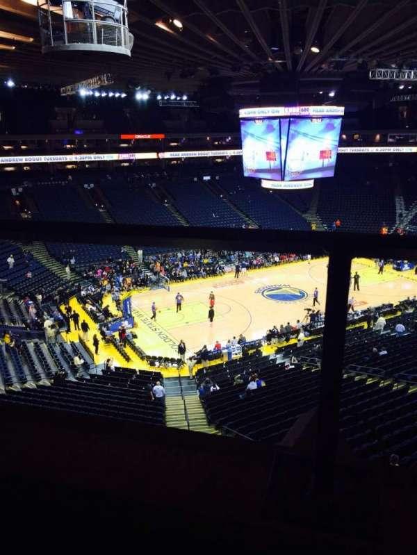 Oracle Arena, sección: 204, fila: 1, asiento: 4