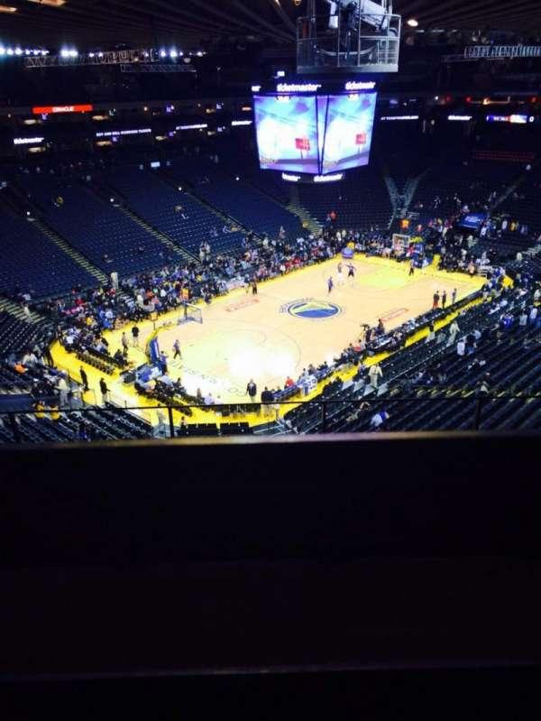 Oracle Arena, sección: 205, fila: 5, asiento: 3