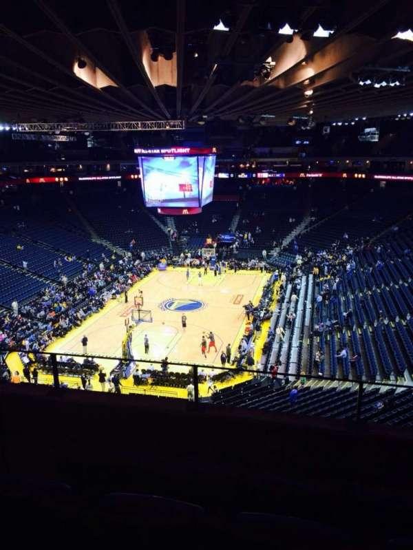 Oracle Arena, sección: 207, fila: 4, asiento: 4