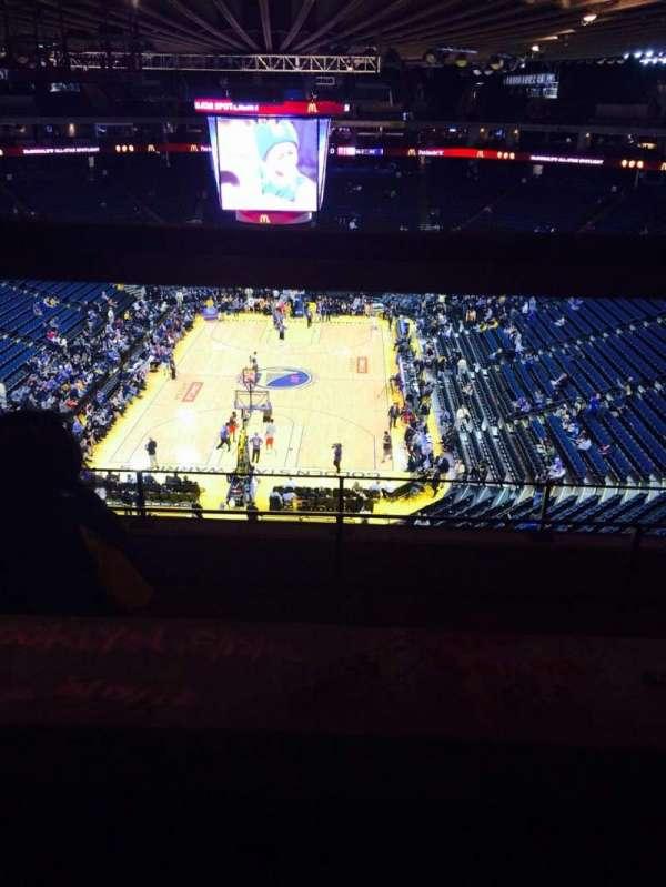 Oracle Arena, sección: 208, fila: 5, asiento: 5