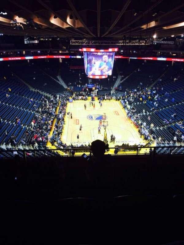 Oracle Arena, sección: 209, fila: 8, asiento: 9