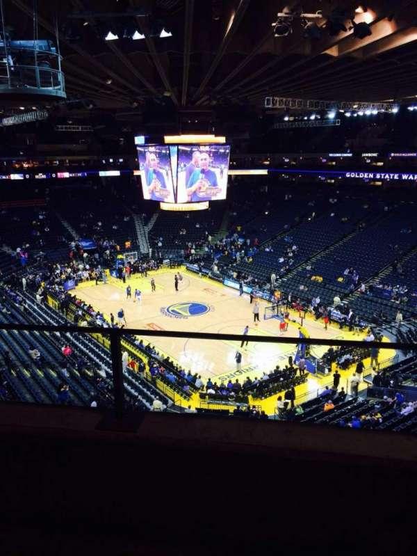 Oracle Arena, sección: 212, fila: 2, asiento: 6