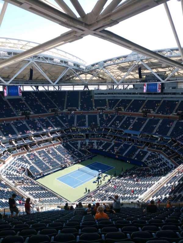 Arthur Ashe Stadium, sección: 326, fila: Z, asiento: 10