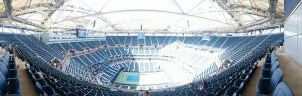 Arthur Ashe Stadium, sección: 311, fila: S, asiento: 10
