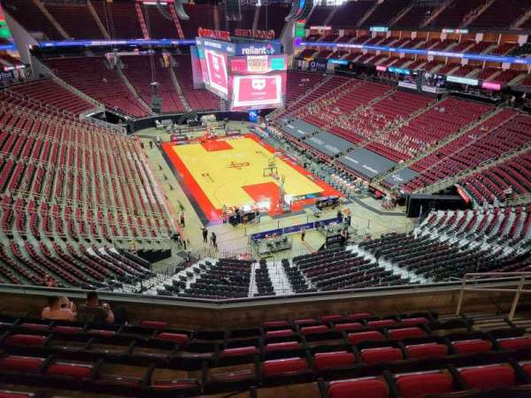 Toyota Center, sección: 403, fila: 8, asiento: 8