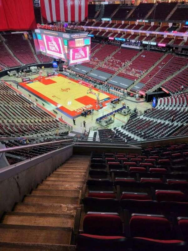 Toyota Center, sección: 404, fila: 10, asiento: 15