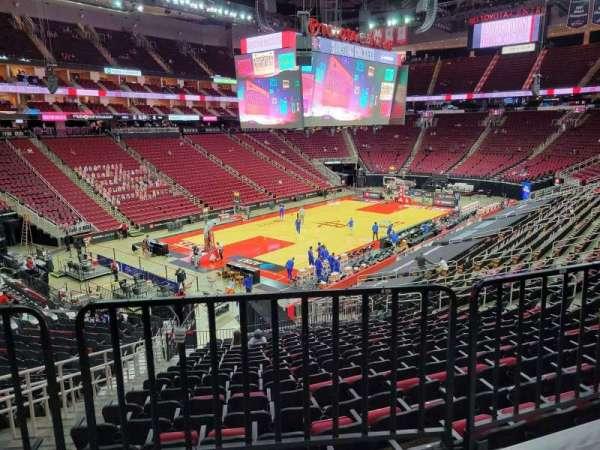 Toyota Center, sección: 124, fila: wc, asiento: 20