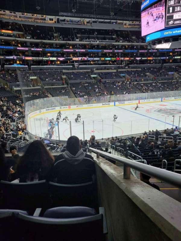 Staples Center, sección: PR8, fila: 5, asiento: 3