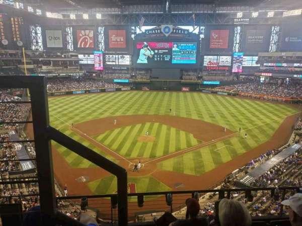 Chase Field, sección: 315, fila: 5, asiento: 15