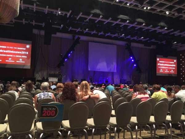 Borgata Event Center, sección: B, fila: A, asiento: 1