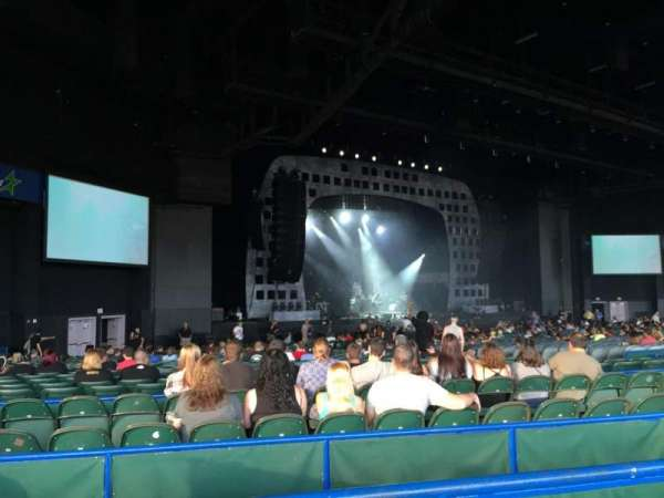 BB&T Pavilion, sección: 203, fila: 59, asiento: 1