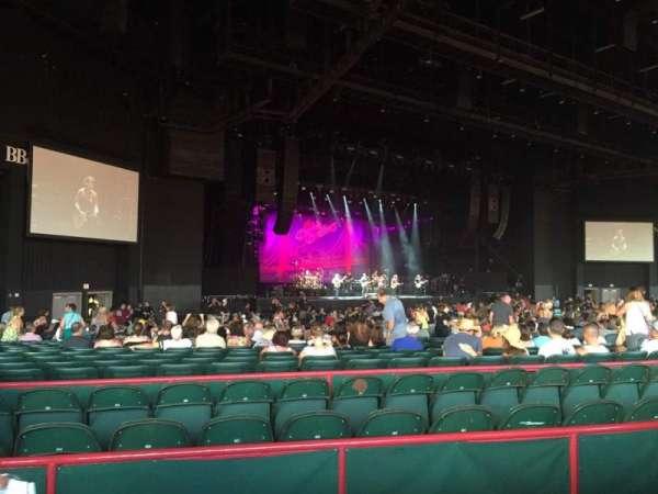 BB&T Pavilion, sección: 203, fila: 60, asiento: 1