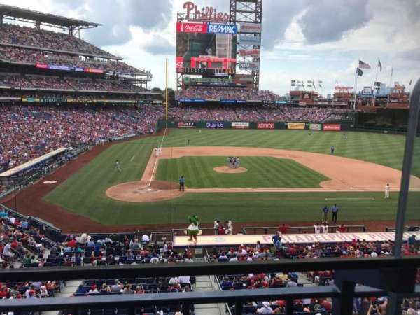 Citizens Bank Park, sección: Suite 43, fila: 1, asiento: 2