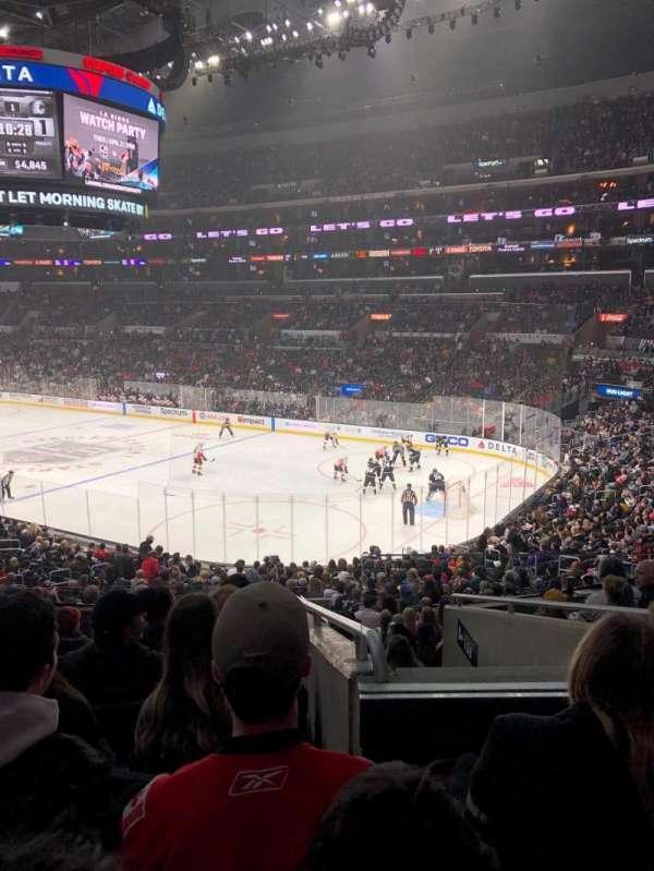 Staples Center, sección: PR10, fila: 8, asiento: 6