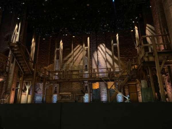 CIBC Theatre, sección: Orchestra C, fila: E, asiento: 110