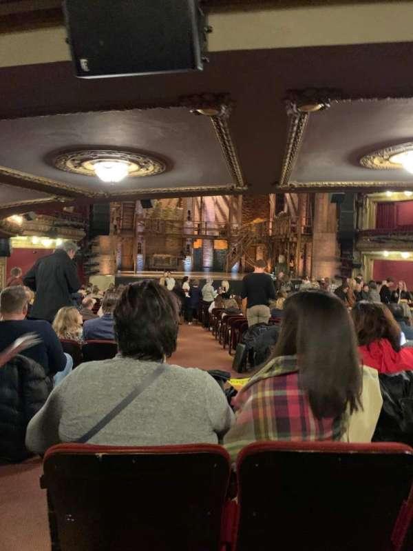 CIBC Theatre, sección: Orchestra C, fila: Y, asiento: 101