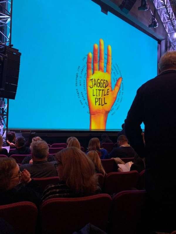 Broadhurst Theatre, sección: ORCHO, fila: H, asiento: 13