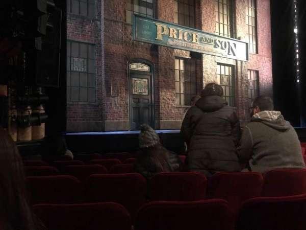 Al Hirschfeld Theatre, sección: Orchestra L, fila: G, asiento: 11