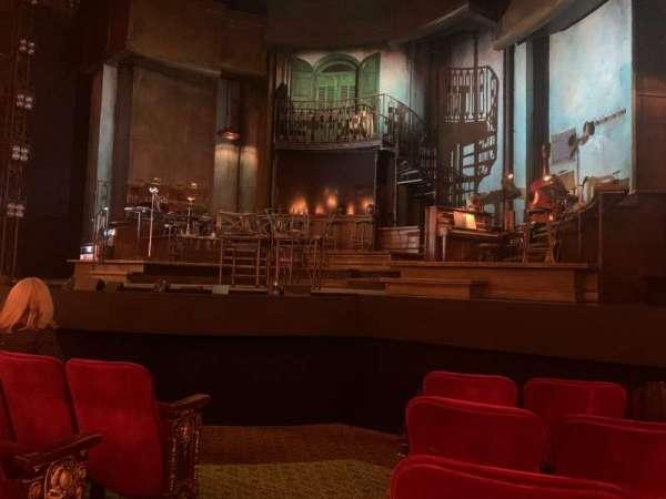 Walter Kerr Theatre, sección: Orchestra R, fila: F, asiento: 2