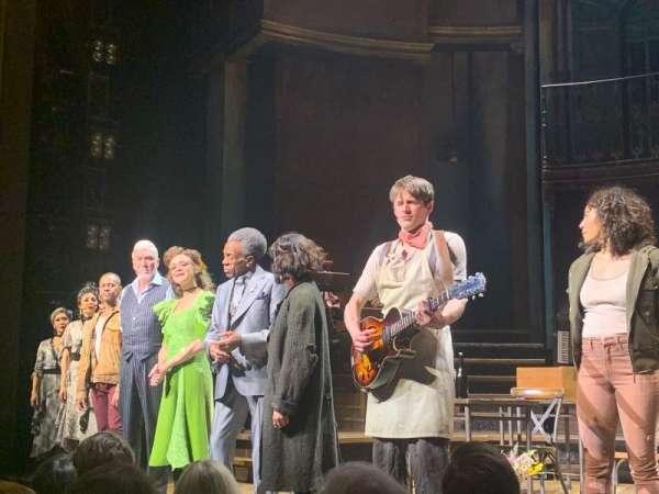 Walter Kerr Theatre, sección: Orchestra L, fila: E, asiento: 4