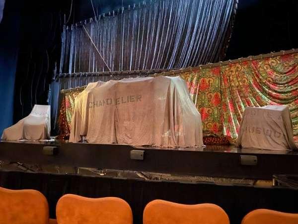 Majestic Theatre, sección: Center Orchestra, fila: B, asiento: 12
