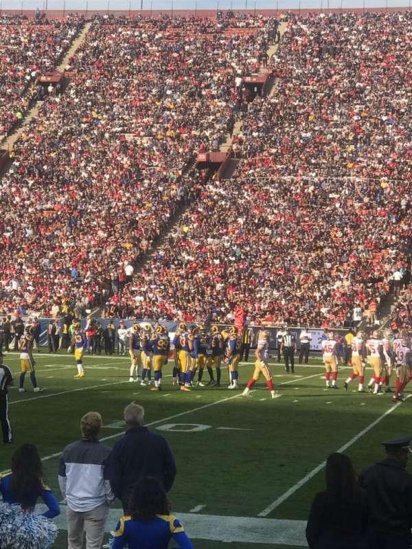 Los Angeles Memorial Coliseum, sección: 5H, fila: 5, asiento: 114