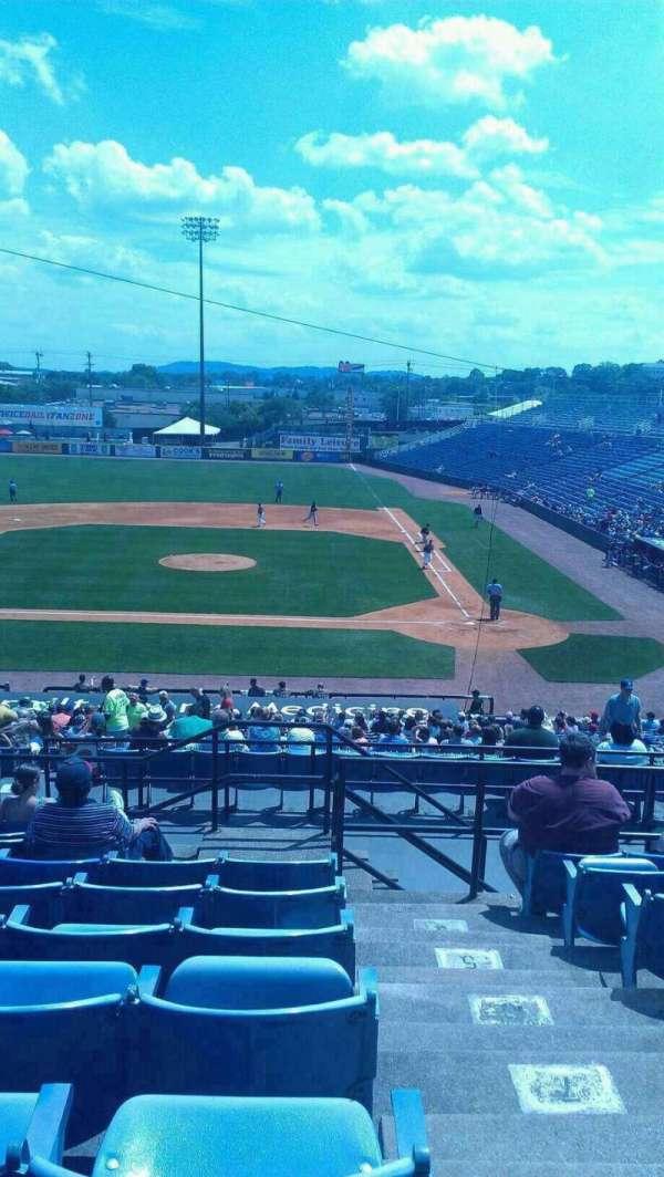 Herschel Greer Stadium, sección: RR, fila: 11, asiento: 15
