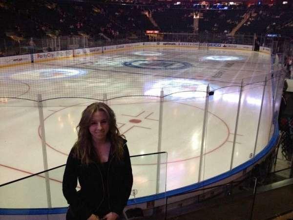 Madison Square Garden, sección: 103, fila: 14, asiento: 16