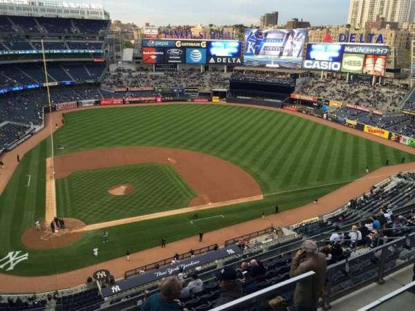 Yankee Stadium, sección: 417, fila: 1, asiento: 5
