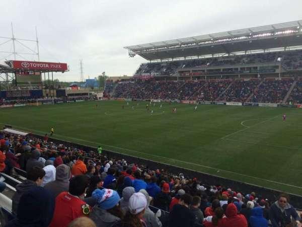 SeatGeek Stadium, sección: 124, fila: 24, asiento: 1