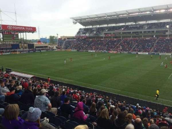 SeatGeek Stadium, sección: 125, fila: 20, asiento: 1
